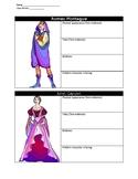 Romeo and Juliet Character Charts
