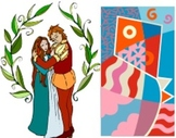Romeo and Juliet Character Collage