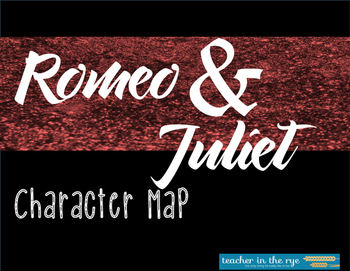 Romeo and Juliet Character Map