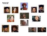 Romeo and Juliet Character Map with photos