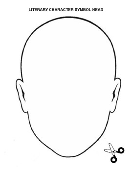 Romeo and Juliet Character Symbol Head