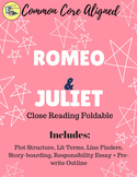 Romeo and Juliet Close Read Foldable