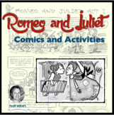 Romeo and Juliet: Shakespeare Comics and Activities
