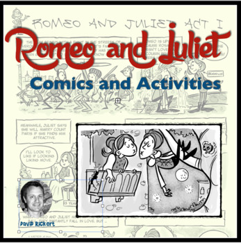 Romeo and Juliet: Comic Summaries and Activities