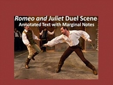 Romeo and Juliet Common Core Annotated Text – Duel Scene (