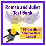 Romeo and Juliet Test 100 Questions