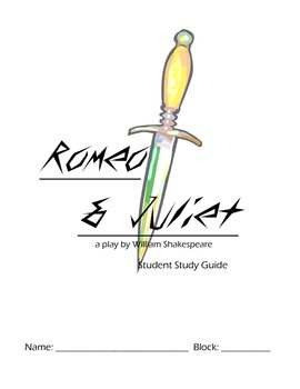 Romeo and Juliet - Complete Student Packet