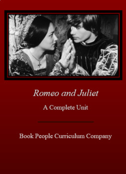 Romeo and Juliet: Complete Unit, study questions, essay, test