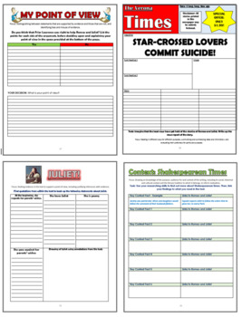 Romeo and Juliet Comprehension Activities Booklet!