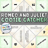 Romeo and Juliet Cootie Catcher with Higher Order Discussi