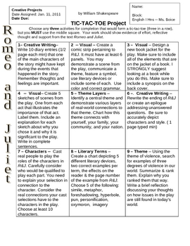 romeo and juliet dialectical journal
