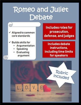 Romeo and Juliet Debate