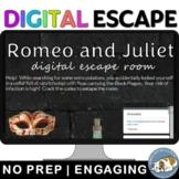 Romeo and Juliet Digital Lock Box Escape Room Game