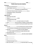 Romeo and Juliet- Elizabethan England Historical Context Guided Notes Handout