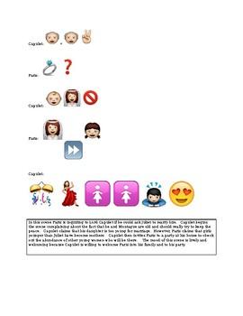 Romeo and Juliet - Emoji Assignment