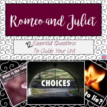 Romeo and Juliet Essential Question Posters