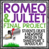 ROMEO AND JULIET CREATIVE FINAL PROJECT