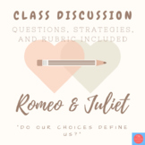 Romeo and Juliet: Final discussion with strategies and rubric