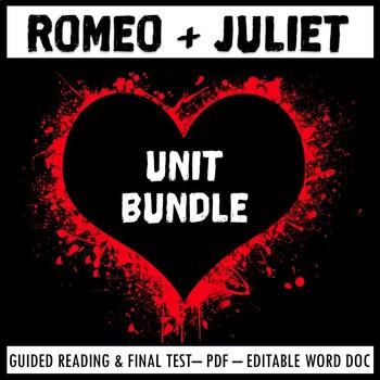 Romeo and Juliet Full Unit Bundle