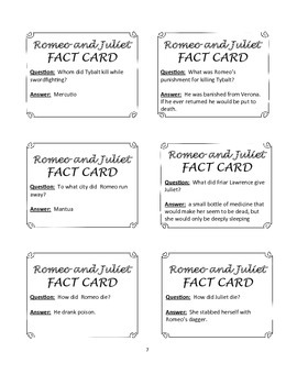 Romeo and Juliet Game