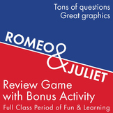 Romeo and Juliet Quote Review Game, an Entire Period of Fun Review