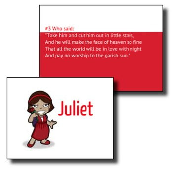 Romeo And Juliet Review Game