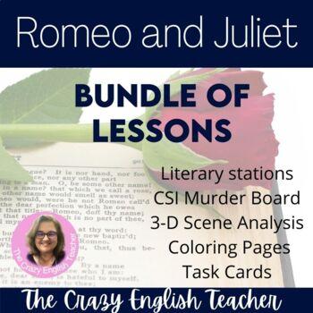 Romeo and Juliet Bundle Unit