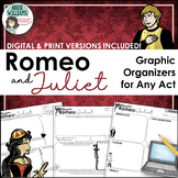Romeo and Juliet Graphic Organizers