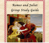 Romeo and Juliet Group Study Guide