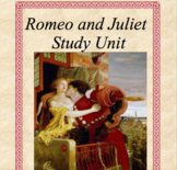 Romeo and Juliet Higher Level Thinking Unit