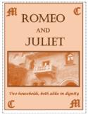 Romeo and Juliet Homework Bundle