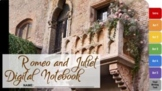 Romeo and Juliet Interactive Digital Notebook  (Louisiana 2020 Guidebook)