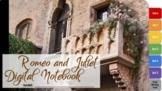 Romeo and Juliet Interactive Digital Notebook  (Louisiana