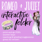 Romeo and Juliet Interactive Folder