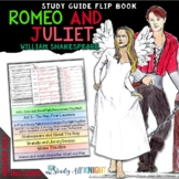 ROMEO AND JULIET READING LITERATURE GUIDE FLIP BOOK