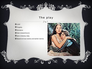 Romeo and Juliet Intro Powerpoint