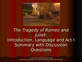 Romeo and Juliet Introduction PowerPoint with Act I Questions