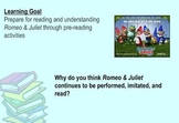Romeo and Juliet Introduction - SMART Response