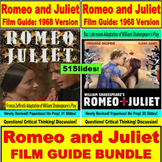 Romeo and Juliet JUMBO Film Guide for New and Old Versions