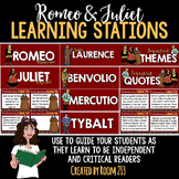 Romeo and Juliet Learning Stations