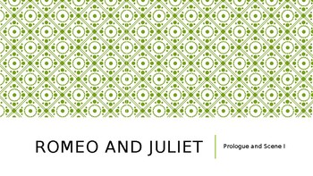 Romeo and Juliet Lessons