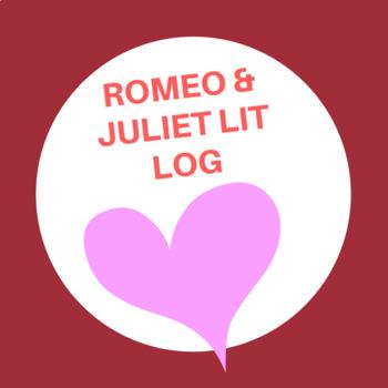 Romeo and Juliet Lit Log