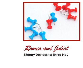Romeo and Juliet Literary Terms PPT & Notes