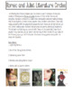 Romeo and Juliet Companion Book Literature Circles