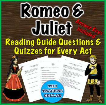 Romeo and Juliet Materials Bundle - Q&As, Bell Ringers/Exit Slips & More!