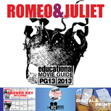 Romeo and Juliet Movie Guide | Questions | Worksheet (PG13