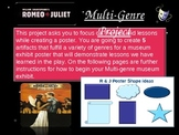 Romeo and Juliet Multi-Genre Project
