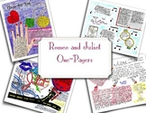Romeo and Juliet One Pager Activity