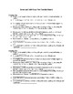 Romeo and Juliet One Paragraph Essay Test