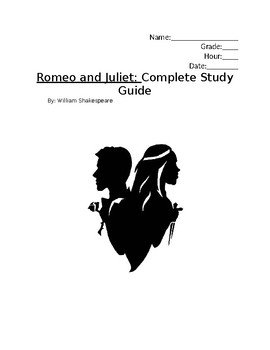 Romeo and Juliet Packet